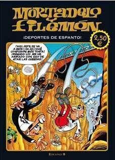 MORTADELO Y FILEMON: DEPORTES DE ESPANTO (ED. LIMIT. VERANO 2011)