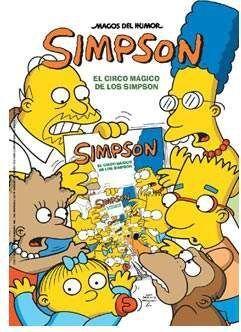 MAGOS DEL HUMOR SIMPSON #34. EL CIRCO MAGICO DE LOS SIMPSON