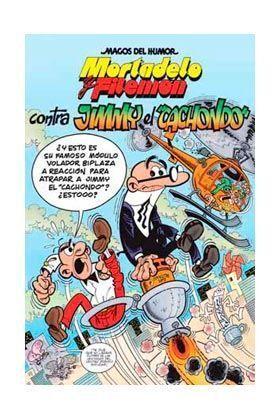 MAGOS DEL HUMOR: MORTADELO #166. CONTRA JIMMY