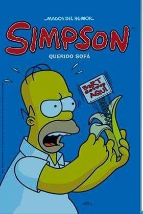MAGOS DEL HUMOR SIMPSON #49. QUERIDO SOFA