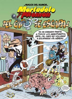 MAGOS DEL HUMOR: MORTADELO #180. EL CAPO SE ESCAPA!