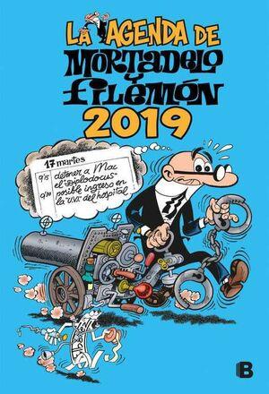 AGENDA MORTADELO Y FILEMON 2019