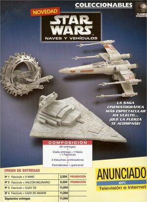 STAR WARS NAVES Y VEHICULOS #31. BOMBARDERO TIE
