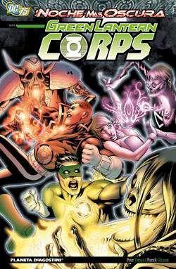 GREEN LANTERN CORPS #07. LA NOCHE MAS OSCURA