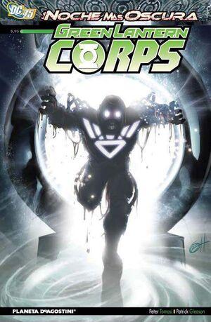 GREEN LANTERN CORPS #08. LA NOCHE MAS OSCURA
