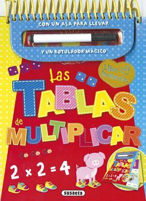 LAS TABLAS DE MULTIPLICAR: LIBRO INTERACTIVO