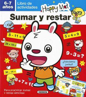 LIBRO DE ACTIVIDADES. SUMAR Y RESTAR 6-7 AÑOS