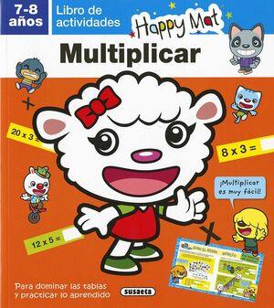 LIBRO DE ACTIVIDADES. MULTIPLICAR 7-8 AÑOS