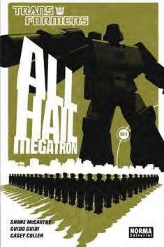 TRANSFORMERS ALL HAIL MEGATRON #01