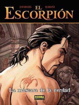 EL ESCORPION #09. LA MASCARA DE LA VERDAD