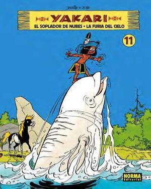 YAKARI #11. EL SOPLADOR DE NUBES - LA FURIA DEL CIELO