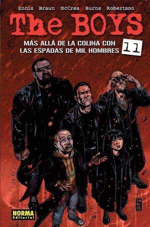 THE BOYS #11. MAS ALLA DE LA COLINA CON LAS ESPADAS DE MIL HOMBRES