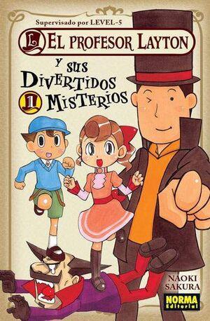 EL PROFESOR LAYTON Y SUS DIVERTIDOS MISTERIOS #01
