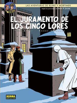 BLAKE Y MORTIMER #21. EL JURAMENTO DE LOS CINCO LORES