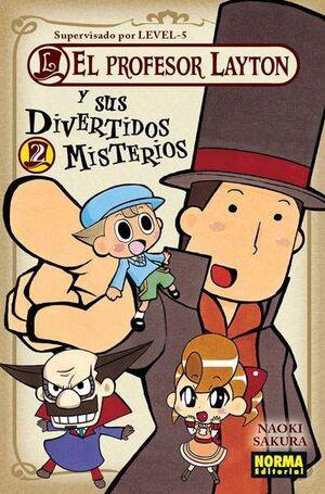 EL PROFESOR LAYTON Y SUS DIVERTIDOS MISTERIOS #02