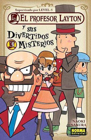 EL PROFESOR LAYTON Y SUS DIVERTIDOS MISTERIOS #03