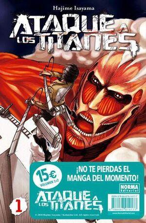 ATAQUE A LOS TITANES #01 + #02