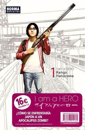 I AM A HERO PACK ESPECIAL #01 Y #02