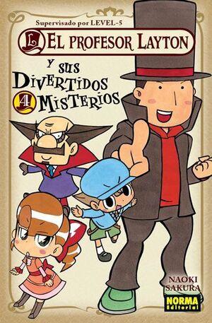 EL PROFESOR LAYTON Y SUS DIVERTIDOS MISTERIOS #04