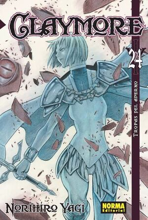 CLAYMORE #24