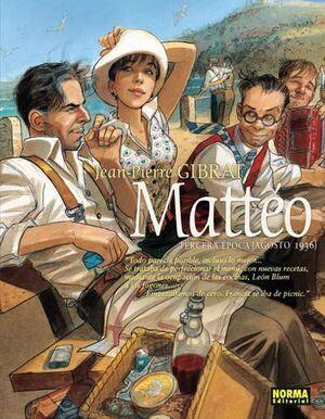 MATTEO #03. TERCERA EPOCA (AGOSTO 1936)