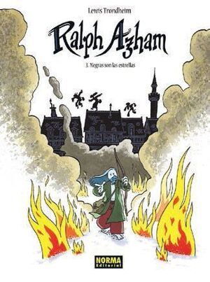 RALPH AZHAM #03. NEGRAS SON LAS ESTRELLAS