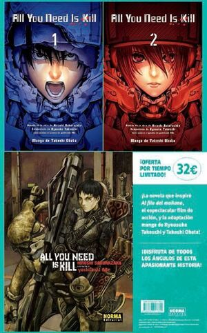 ALL YOU NEED IS KILL: PACK COMPLETO