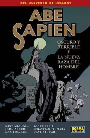 ABE SAPIEN #03. OSCURO Y TERRIBLE Y LA NUEVA RAZA DEL HOMBRE