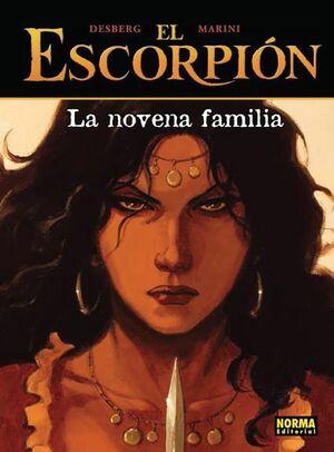 EL ESCORPION #11. LA NOVENA FAMILIA (CARTONE)