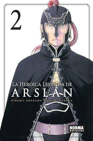 LA HEROICA LEYENDA DE ARSLAN #02