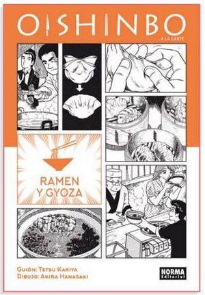OISHINBO A LA CARTE #03. RAMEN Y GYOZA