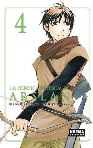 LA HEROICA LEYENDA DE ARSLAN #04