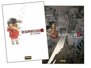 DESAPARECIDO #01, #02. PACK INICIACION