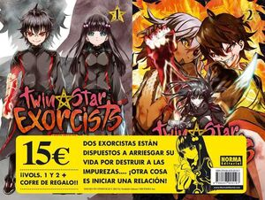 TWIN STAR EXORCISTS PACK DE LANZAMIENTO