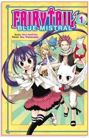 FAIRY TAIL BLUE MISTRAL #01