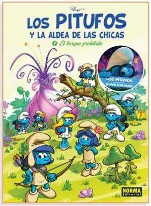 LOS PITUFOS Y LA ALDEA DE LAS CHICAS #01. EL BOSQUE PROHIBIDO