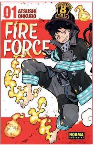 FIRE FORCE #01