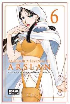 LA HEROICA LEYENDA DE ARSLAN #06