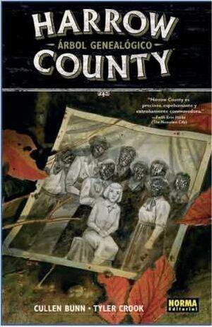 HARROW COUNTY #04. ARBOL GENEALOGICO