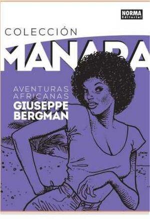 COLECCION MANARA #05. AVENTURAS AFRICANAS GIUSEPPE BERGMAN