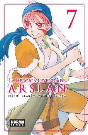 LA HEROICA LEYENDA DE ARSLAN #07