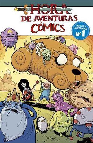 HORA DE AVENTURAS COMICS #01