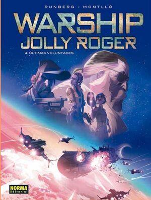 WARSHIP JOLLY ROGER #04 ULTIMAS VOLUNTADES
