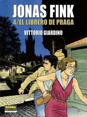 JONAS FINK #04. EL LIBRERO DE PRAGA