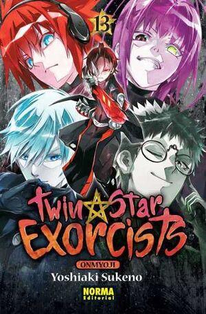 TWIN STAR EXORCISTS: ONMYOUJI #13