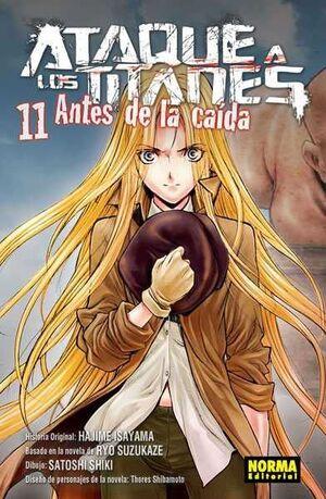 ATAQUE A LOS TITANES: ANTES DE LA CAIDA #11