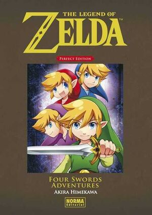 THE LEGEND OF ZELDA PERFECT EDITION: FOUR SWORDS ADVENTURES