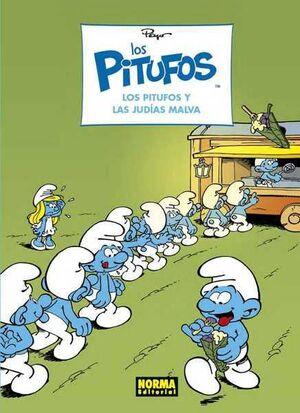 LOS PITUFOS #36. LOS PITUFOS Y LAS JUDIAS MALVA