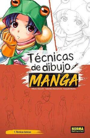 TECNICAS DE DIBUJO MANGA #01