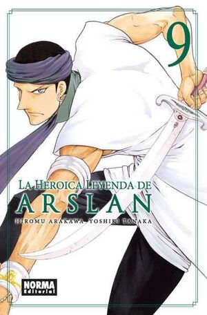 LA HEROICA LEYENDA DE ARSLAN #09
